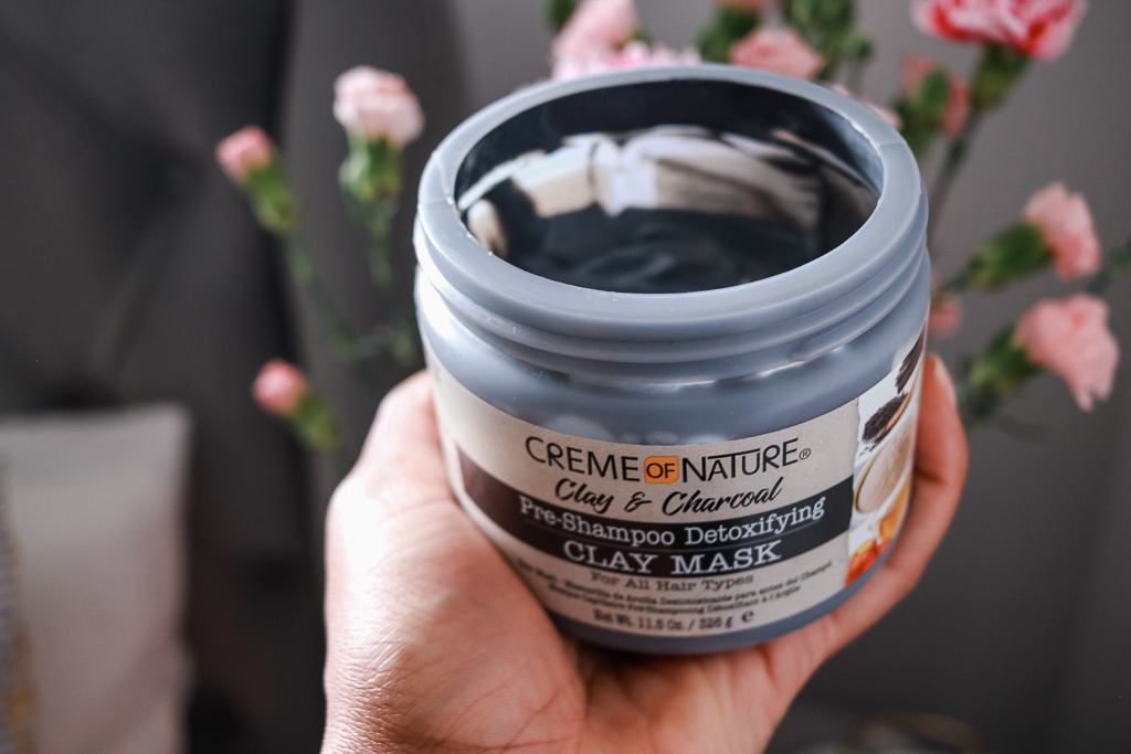 Creme Of Nature Clay and Charcoal Pre-Poo Mask Review