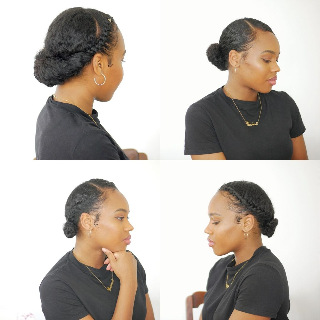 Easy Protective Natural Hair Styles – Quarantine edition