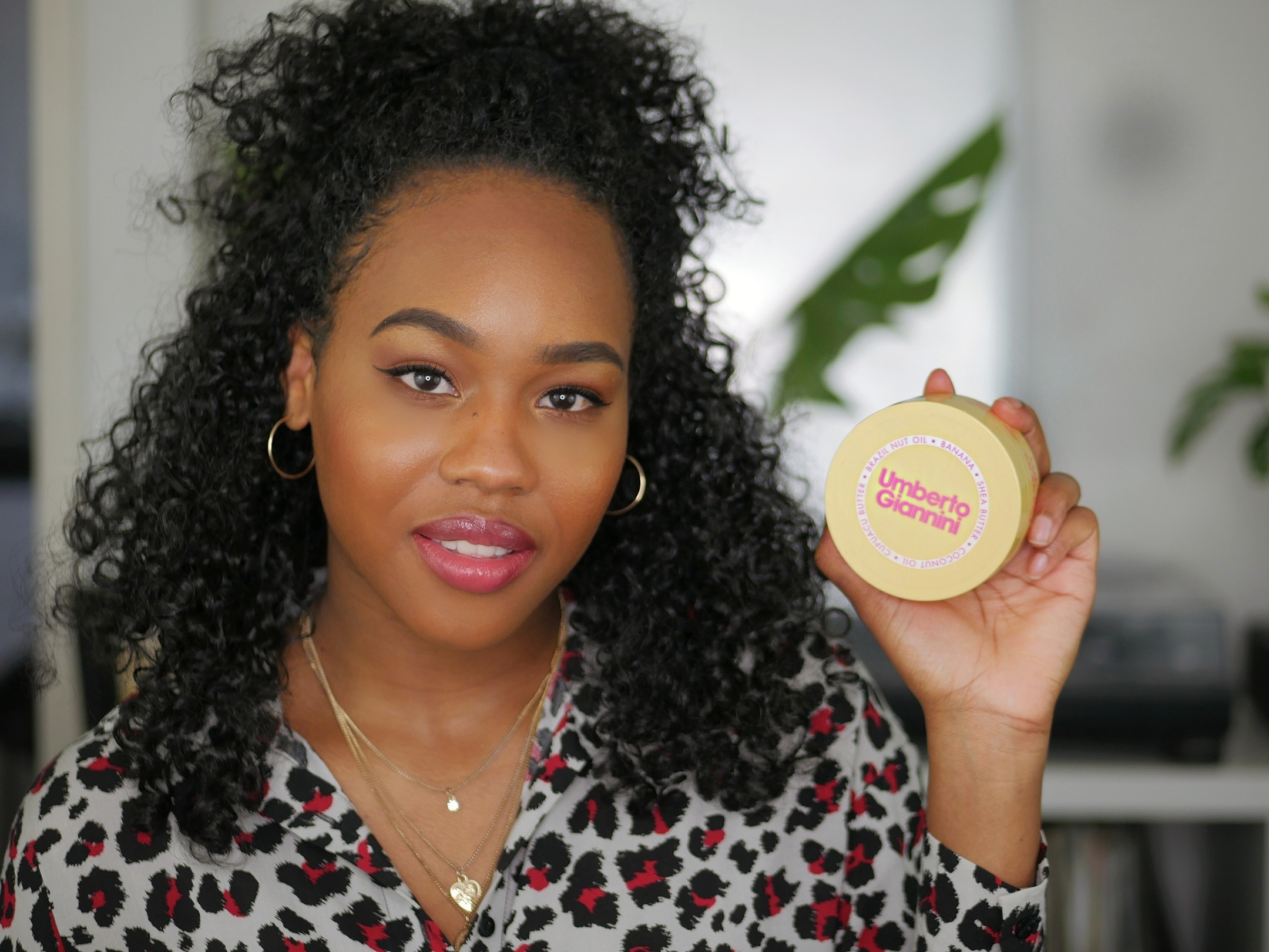 Umberto Giannini Banana Butter Leave-in Conditioner Honest Review