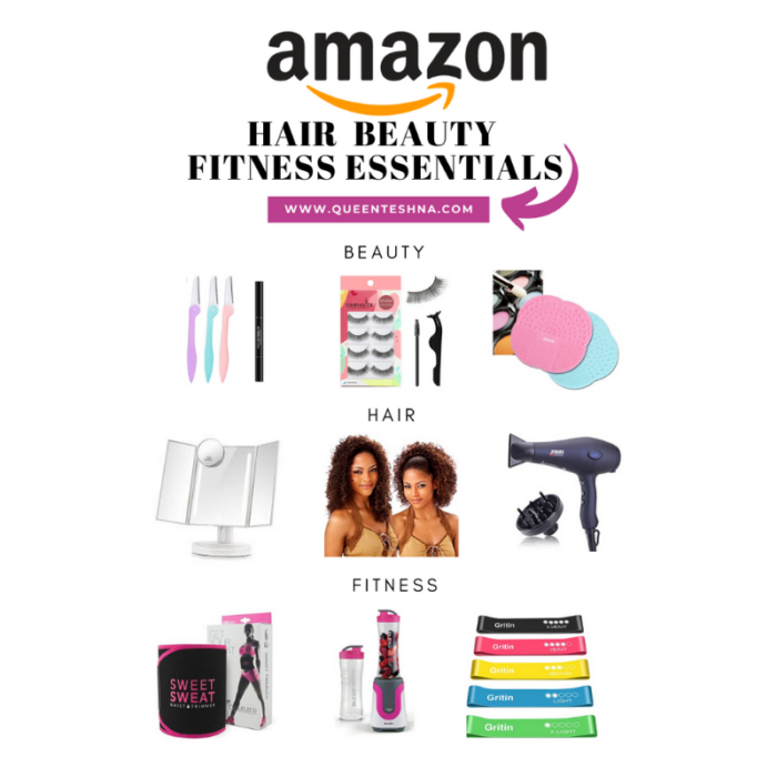 Beauty, natural and fitness amazon essentials !