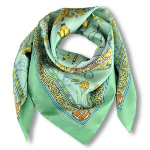 satin and silk scarf for curly natural hair
