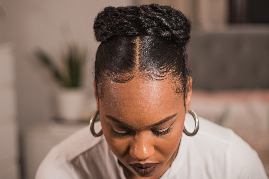 crown wash day natural hairstyles
